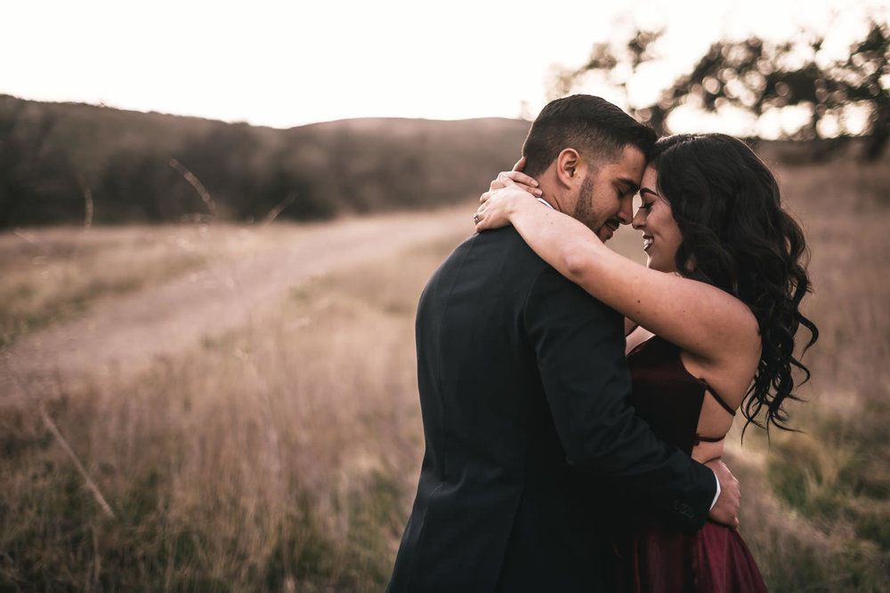 Your elopement guide to get photos like this romantic moment between two beautiful souls at their intimate wedding in malibu