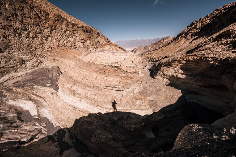 The painted canyon in death valley offers a stunning landscape for your elopement photographs