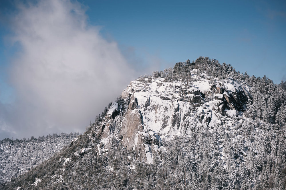 Winter on Mt San Jacinto tranforms the park into a snowy wonderland that can be magical for elopements.