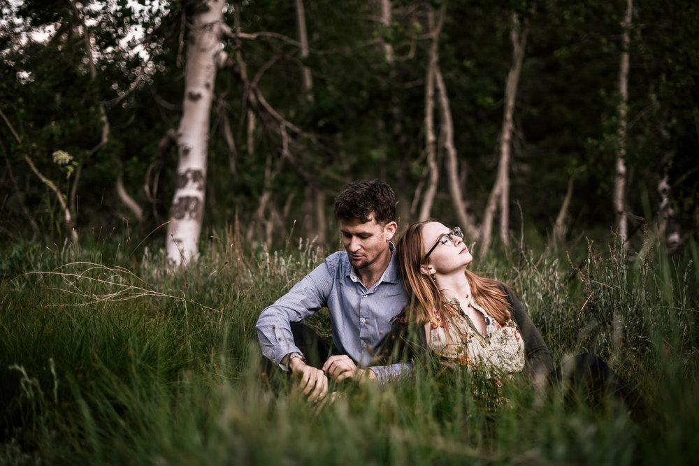 Mineral King is one of the best places in Sequoia National Park for an engagement session