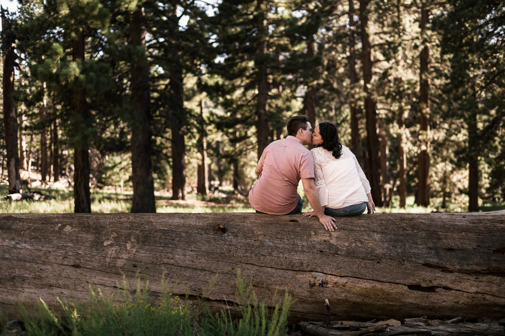 Mt San Jacinto is one of the best elopement locations in California.