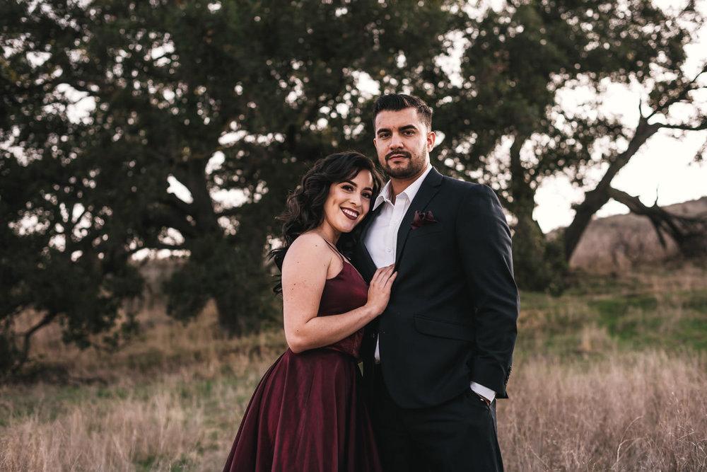 Beautiful engagement photos in Malibu California.