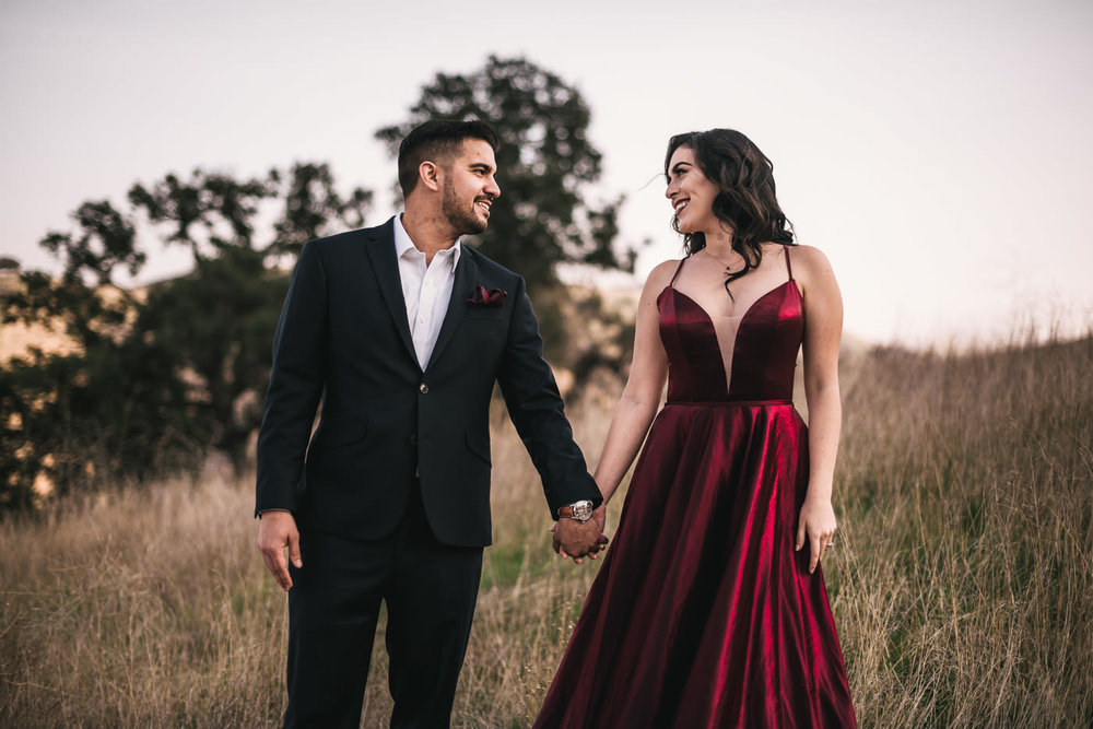 Stunning engagement photography by Malibu Photographer.
