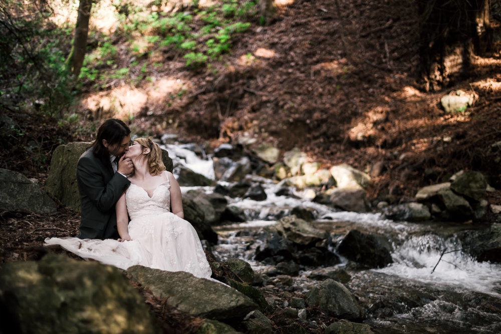 Kevin and Ann's love story on the coast of california. -