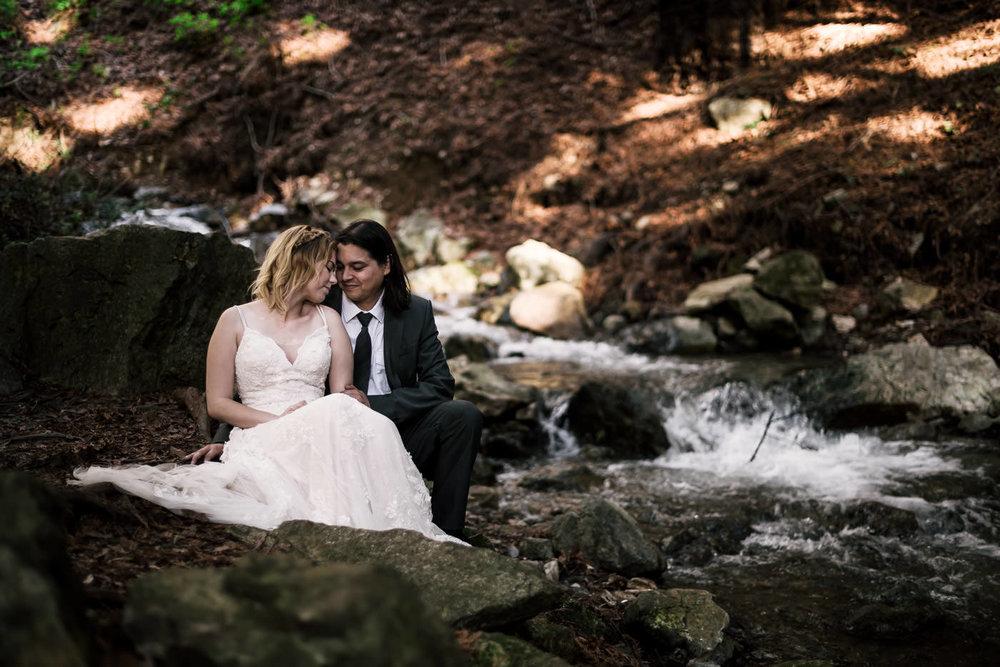 Romantic wedding photography outdoors.