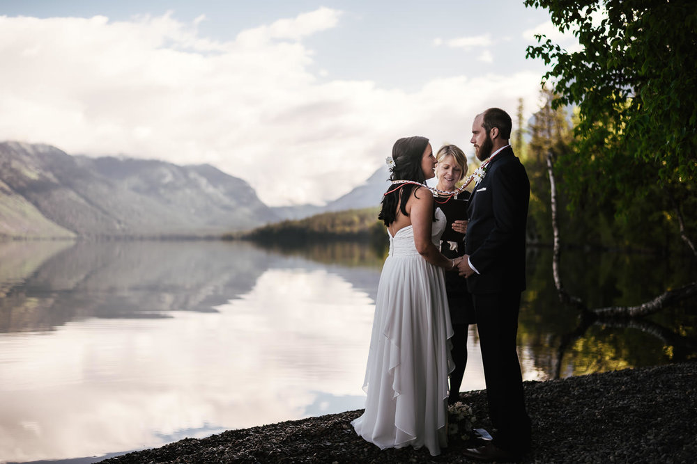 Need an OFFICIANT? - I highly recommend Sally over at Mary Me in Montana. You won't find a kinder, or more professional officiant in all of Montana. Check out her wedding and elopement services!