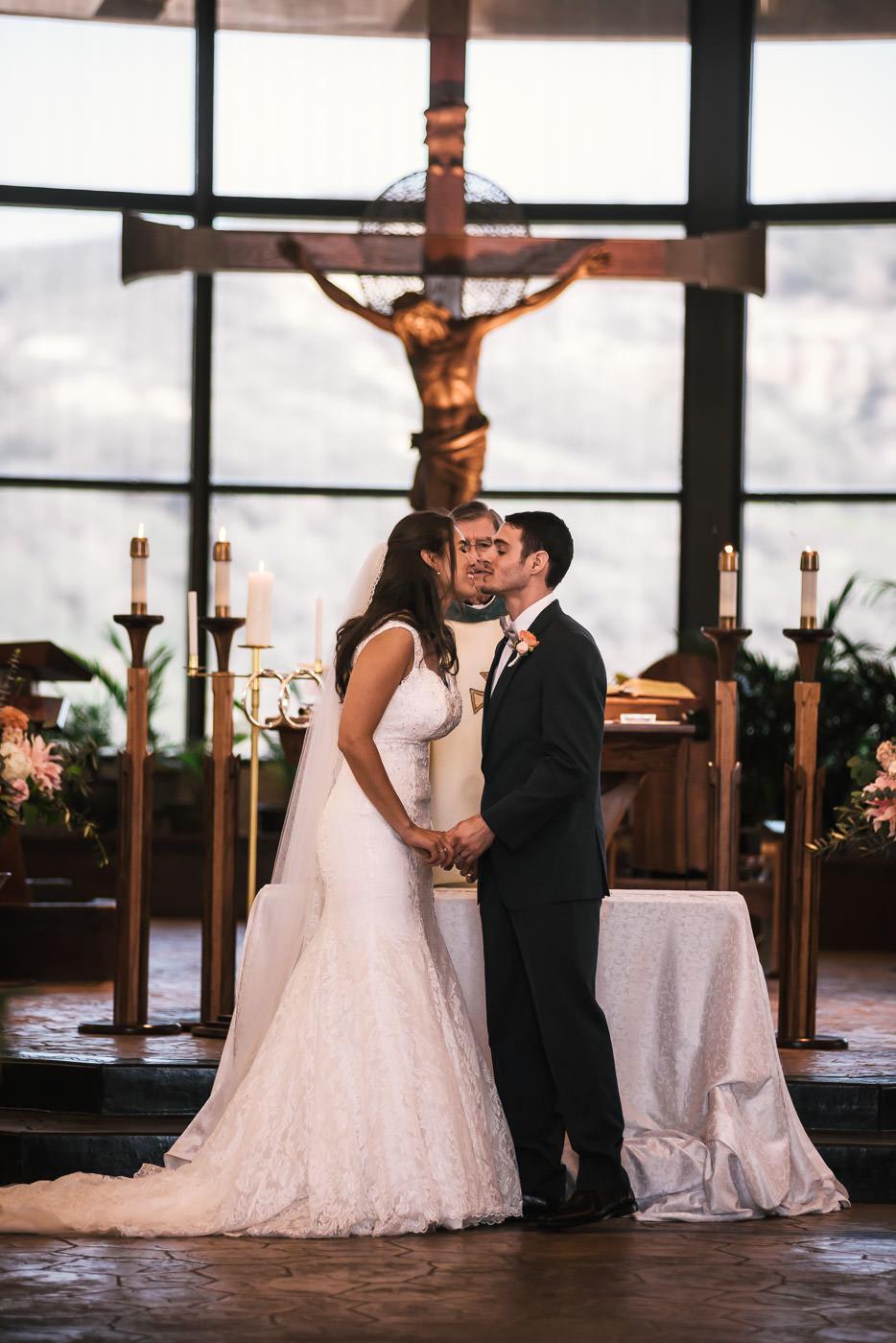 St Therese Carmel Church wedding photographer.