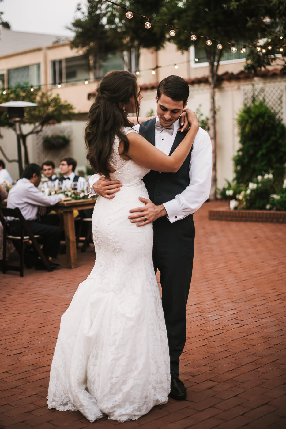 Tender first dance at this Darlington House reception.