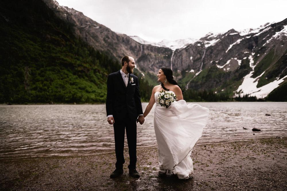 Best Glacier National Park Wedding Photographer.