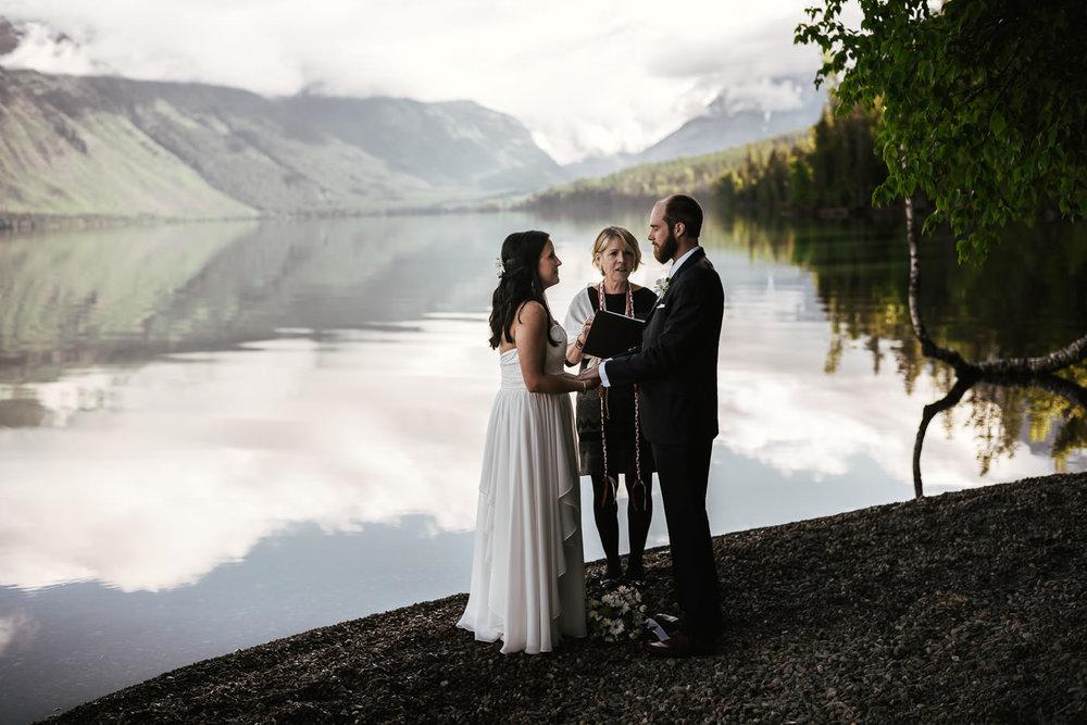 National Park elopement photographer in Montana.