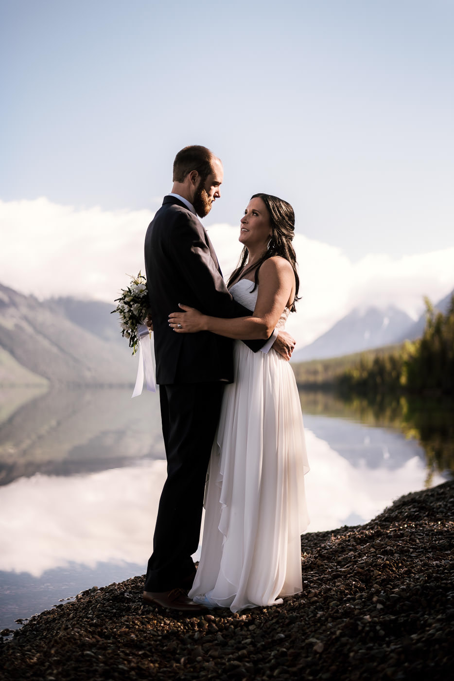 Romantic adventure session with a beautiful couple.