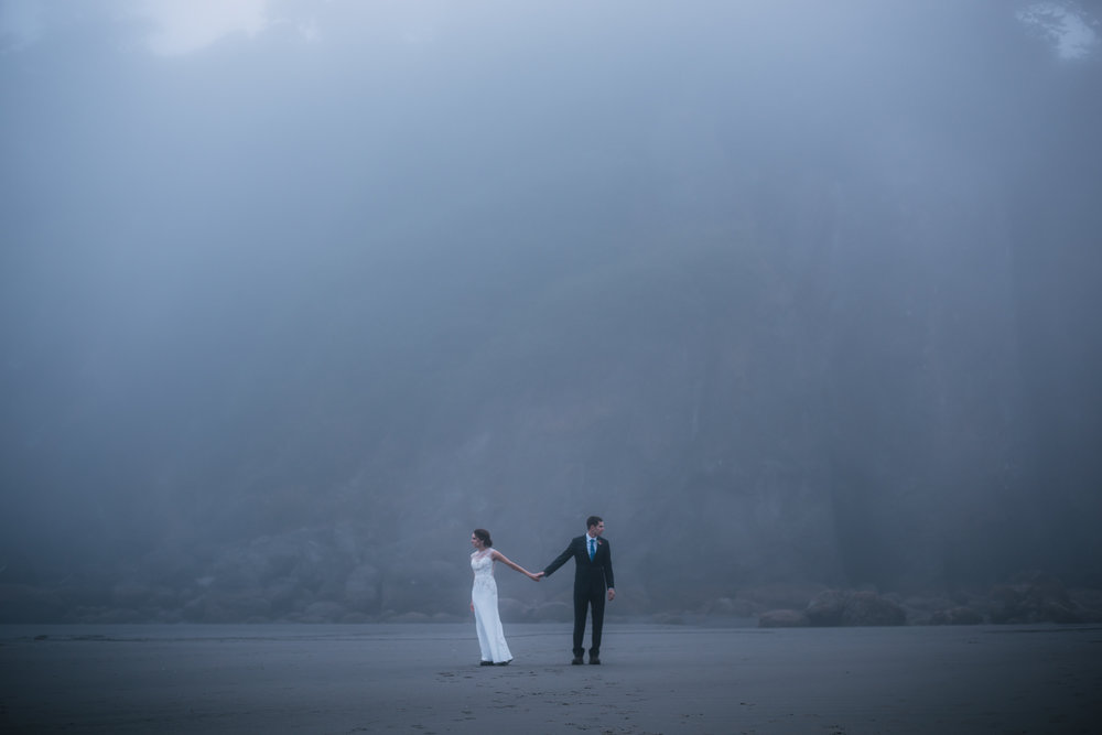 Adventurous elopements in the Pacific Northwest.