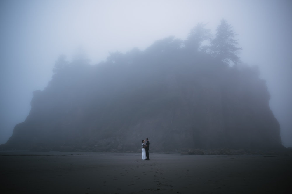 Best elopement photographer in Washington.
