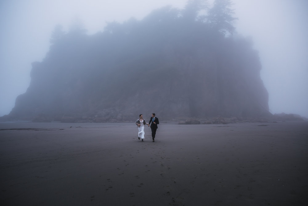 Olympic National Park elopement Photographer.