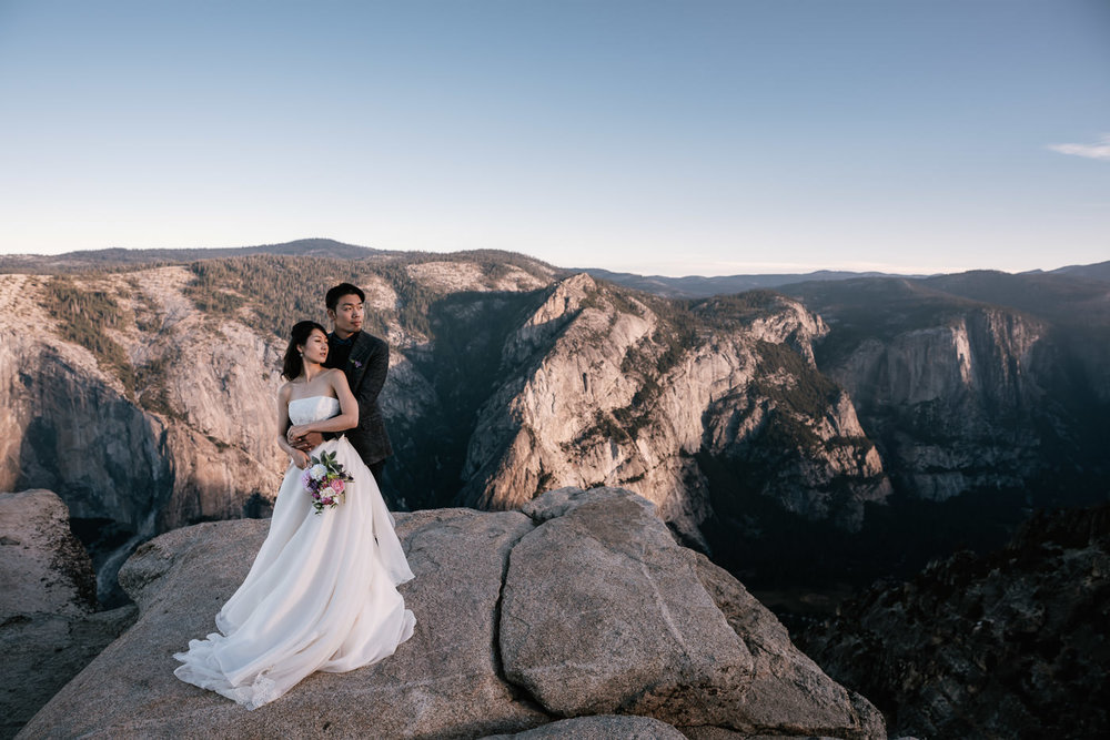 One of the best photo locations in Yosemite, National Park Taft Point.