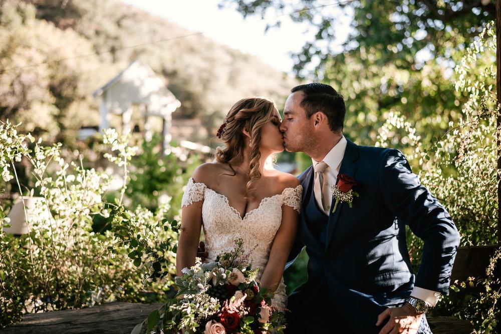 Romantic wedding photographer in Oak Glenn.