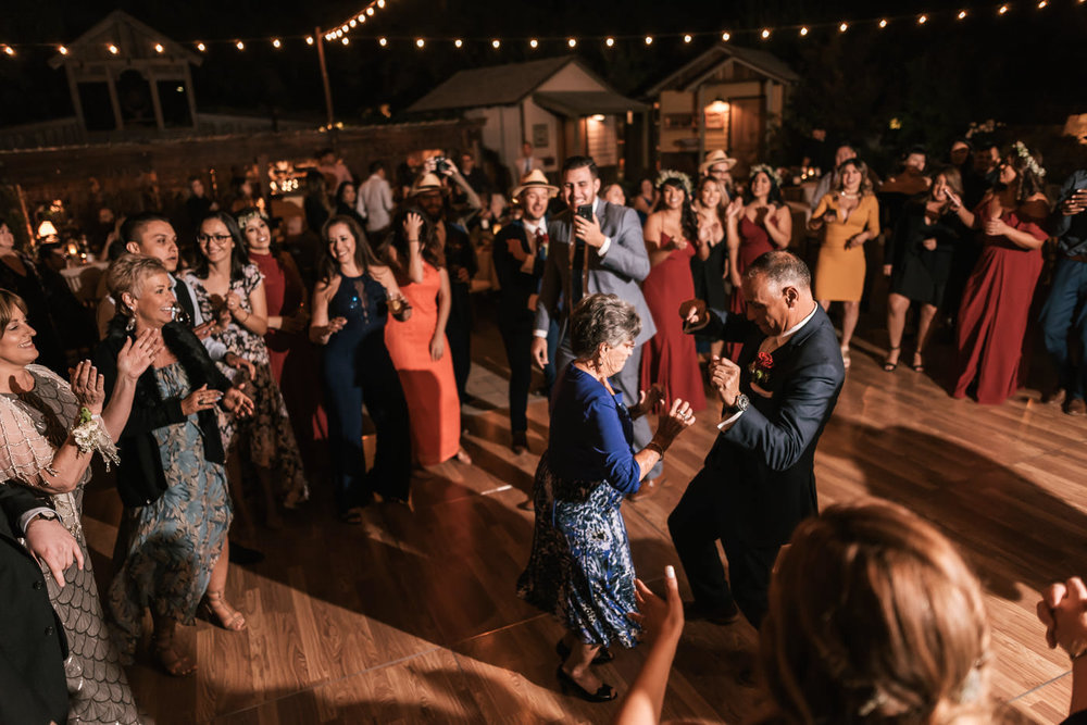 Guests have a blast and have a dance off at the Homestead.