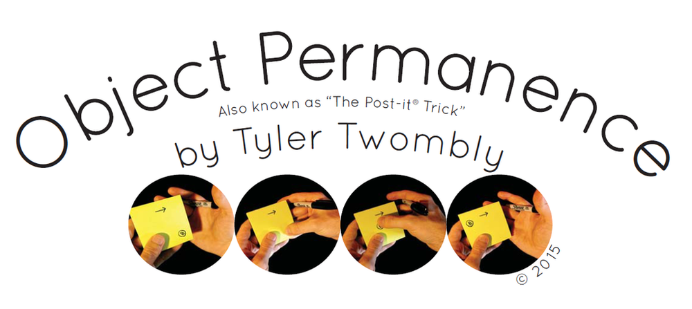 Click here to find out more about the new magic effect by Tyler Twombly
