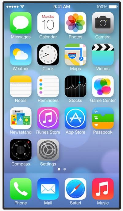 Apple's new iOS 7
