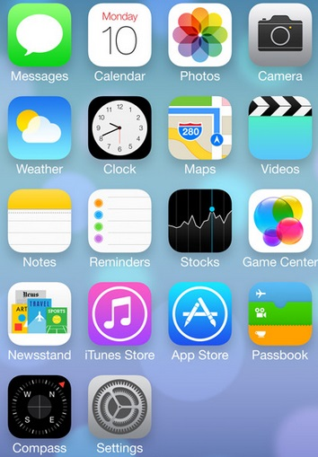 iOS 7 icons - ugly or different or both?