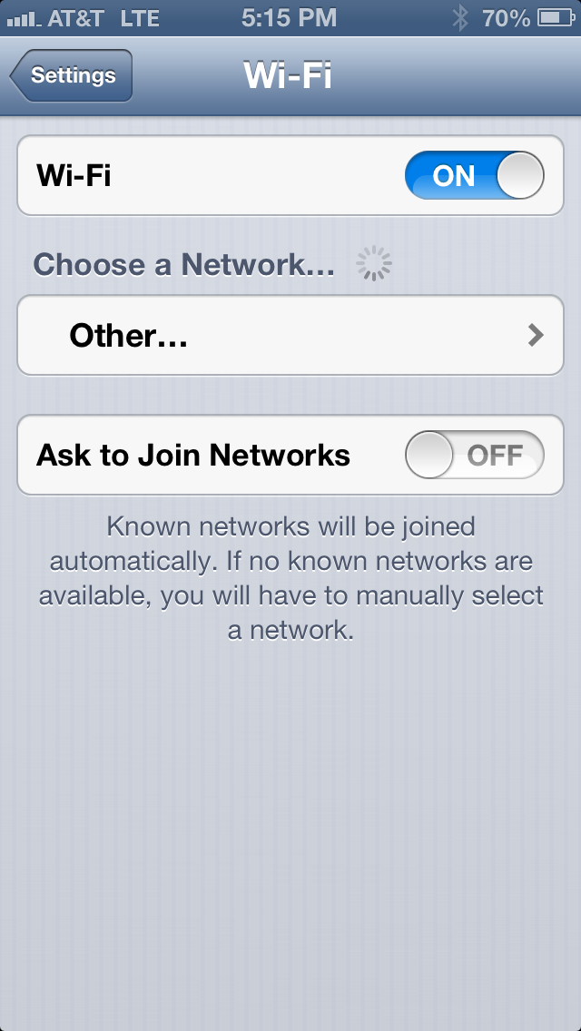 When on it keeps looking out for Wifi networks that the iPhone can join. And any sort of communication in and out of your phone drains its battery.