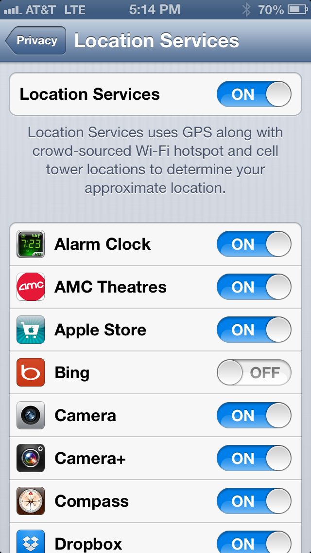 Location services are those which have to know your current location (geo coordinates)