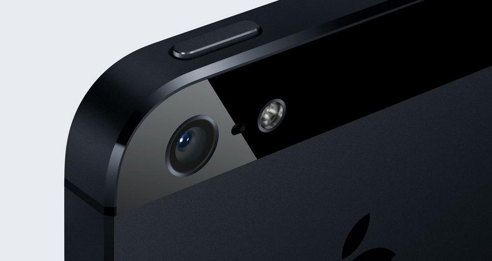 iPhone 5's camera, source: Apple.com