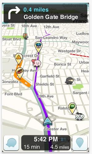Waze for iOS - Source: itunes.apple.com