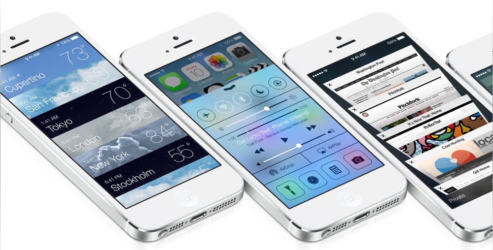 iOS 7 - Source: Apple.com
