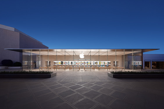 Stanford (CA) Apple store - Source: Apple.com