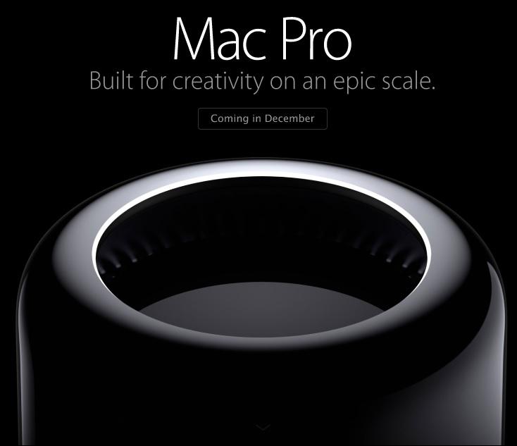 Apple's new Mac Pro (Source - Apple.com)