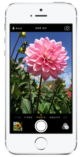 Apple iPhone 5S (Source - Apple.com)