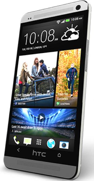 HTC One (Source - HTC.com)