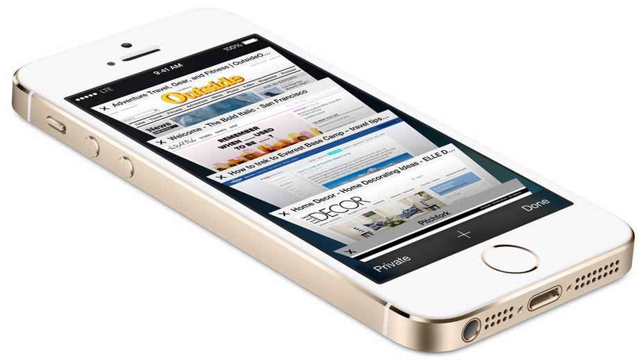 Apple iPhone 5S (Source - Apple.com)