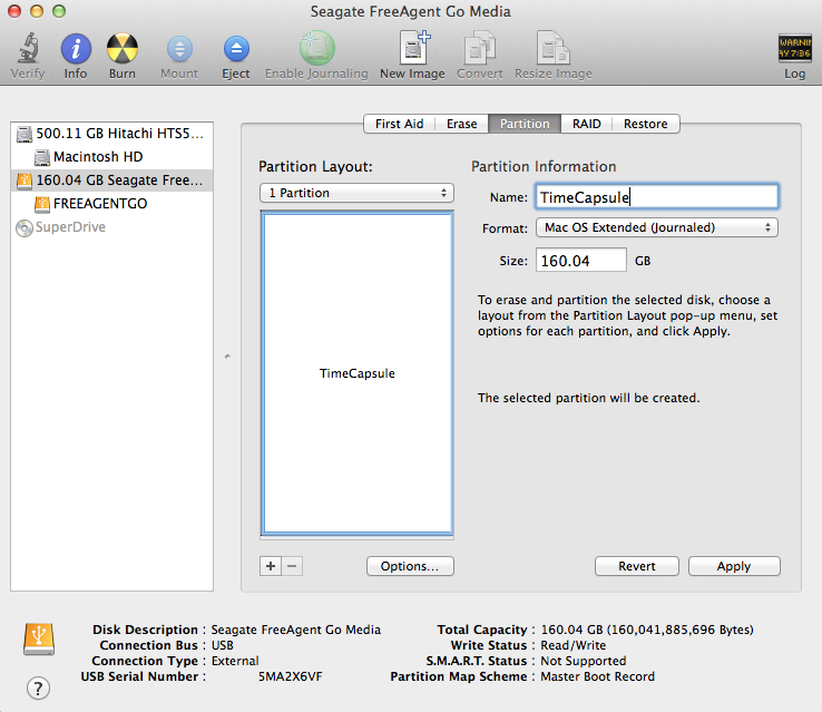 Disk Utility on any Mac allows users to format any hard disk accruing to the custom needs