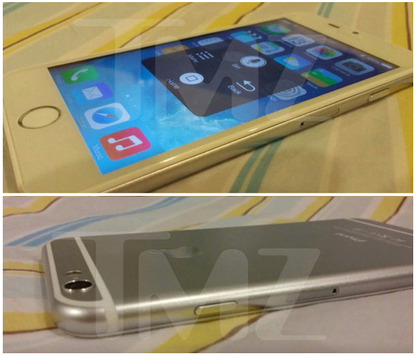 The leaked pics of the iPhone 6 from TMZ looks like every other leak that we have seen so far (Source: TMZ via MacDailyNews)