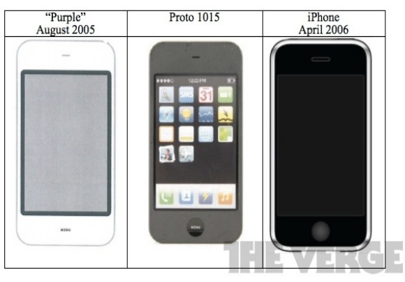 Older Apple iPhone design prototypes from as early as 2005 (via MacRumors)