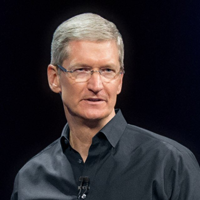 Apple CEO, Tim Cook (Source: Twitter)