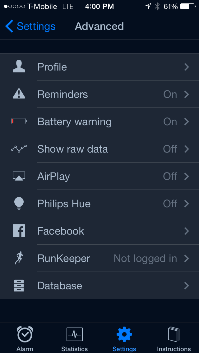 iOS App Review - Sleep Cycle