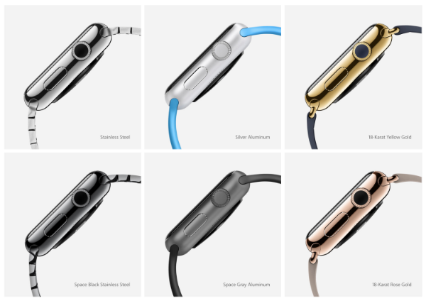 Apple Watch offers a lot of options for customization (Source: Apple.com)