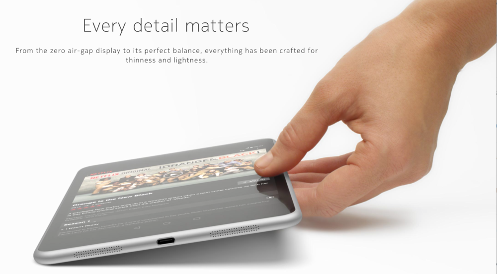 Every detail matters for Nokia, apparently in ripping off Apple (Source: Nokia.com)