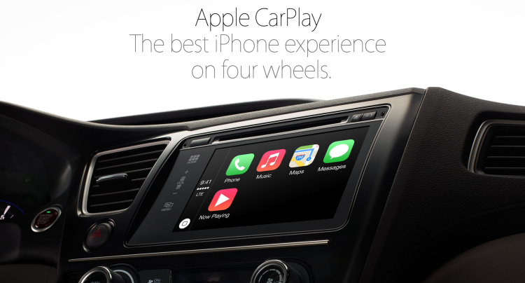 Apple CarPlay helps integrate its iPhones better with third party cars (Source: Apple.com)