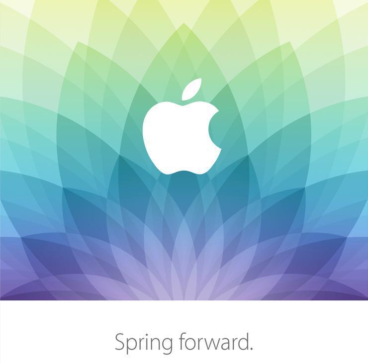 Apple's March 9th (2015) special event invite (Source: WSJ)