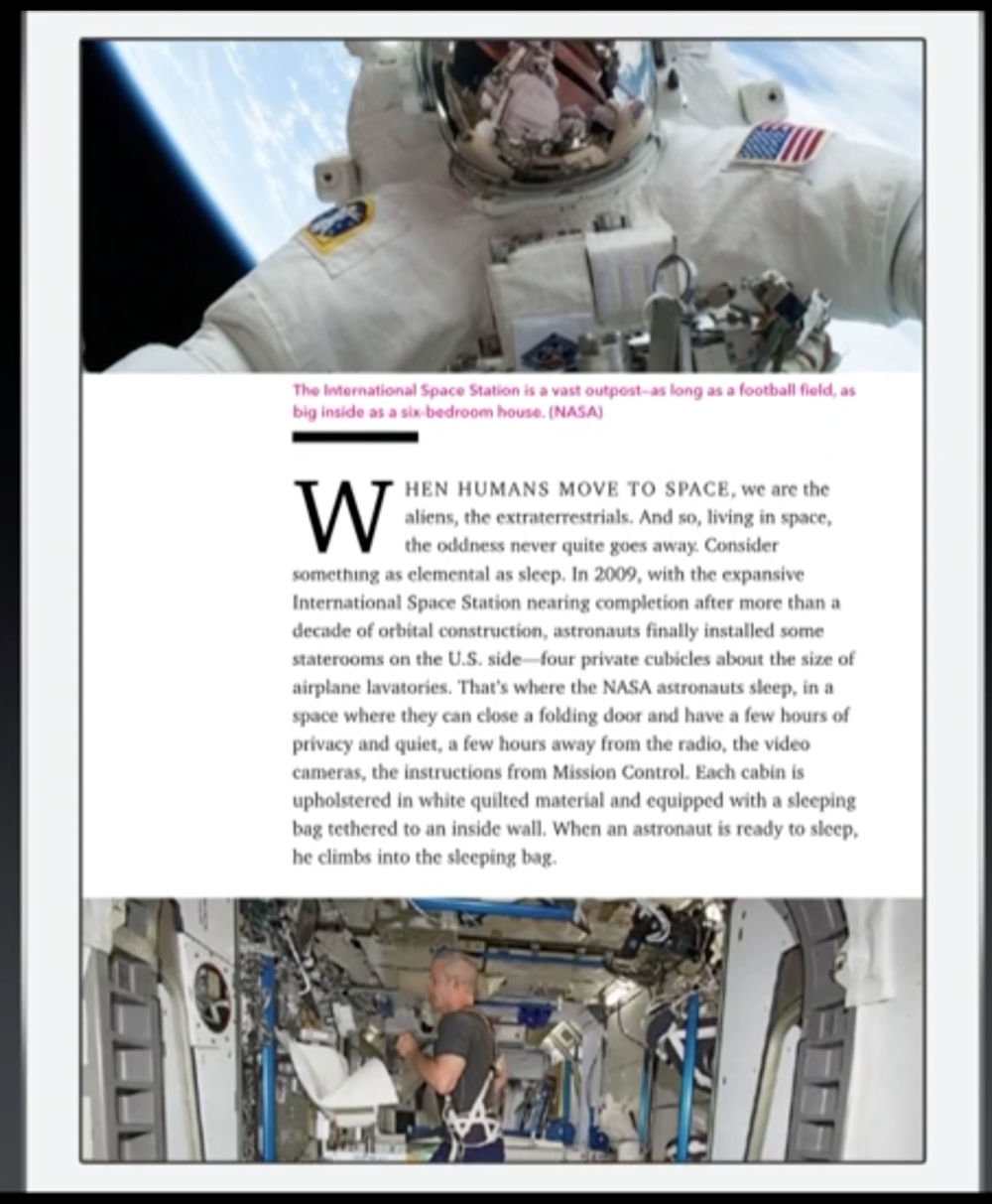 "Apple's new news App called ""News"" looks very similar to Flipboard (Source: Apple.com)"
