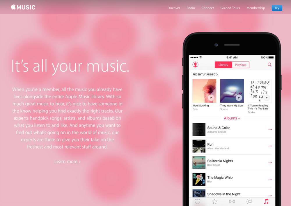 Apple Music (Image Source: Apple.com)