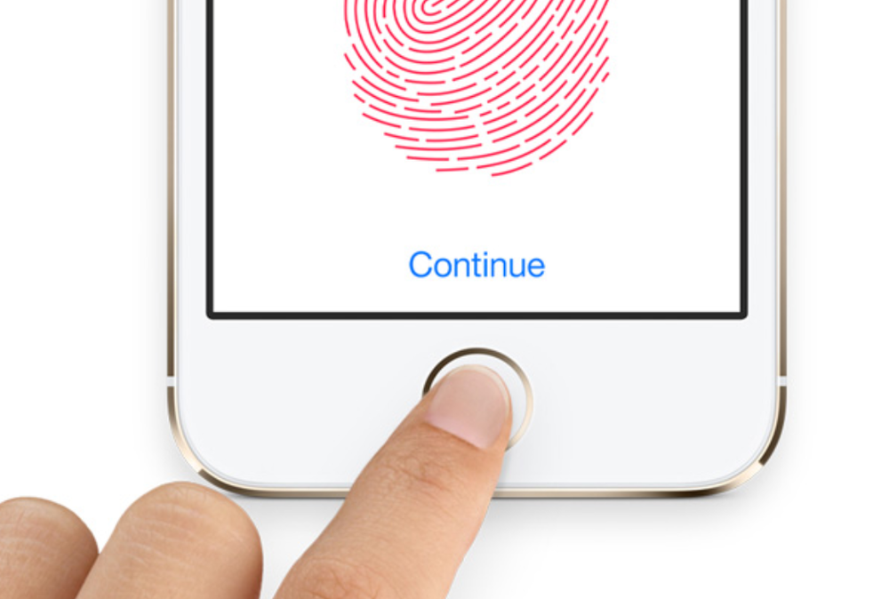 iOS's Touch ID (Source: Apple.com)