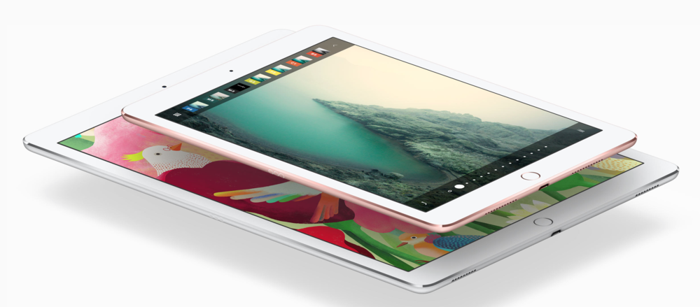 "The iPad hardware is great and with the recent iPad Pro (both the 12.9"" and the 9.7"") it has gotten even better (Image source: Apple.com)"