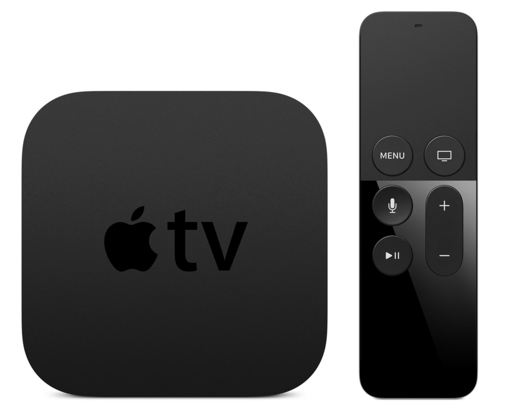 Apple's latest Apple TV 4 (released earlier this year) is a significant improvement to its previous generation ones (Image source: Apple.com)
