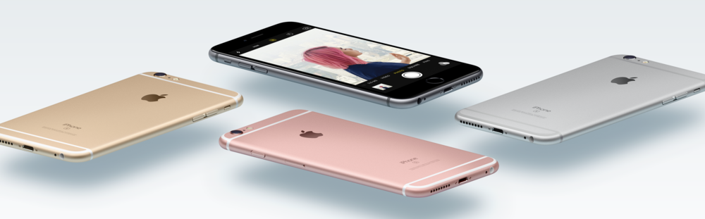 Apple's iPhone 6S models that were released in 2015 came with a paltry 16GB storage capacity in their base models (Image source: Apple.com)