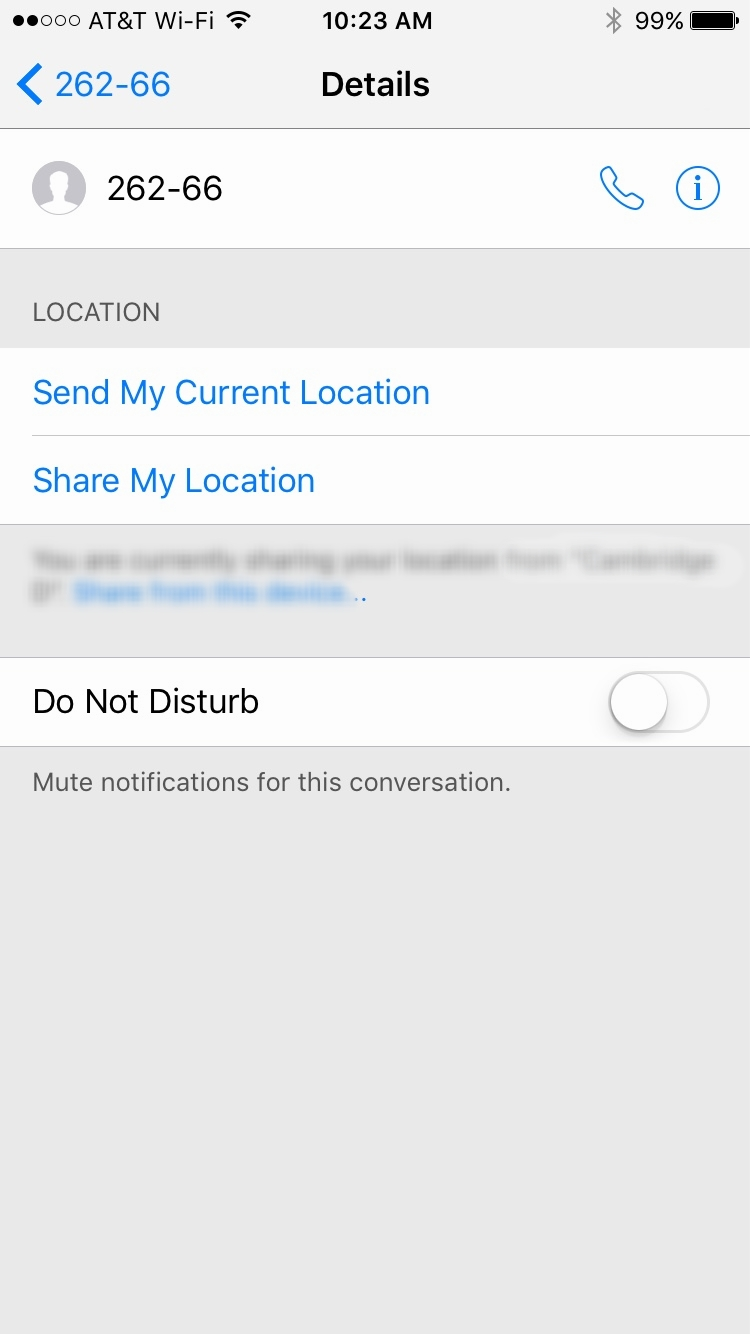 How to delete an iMessage?